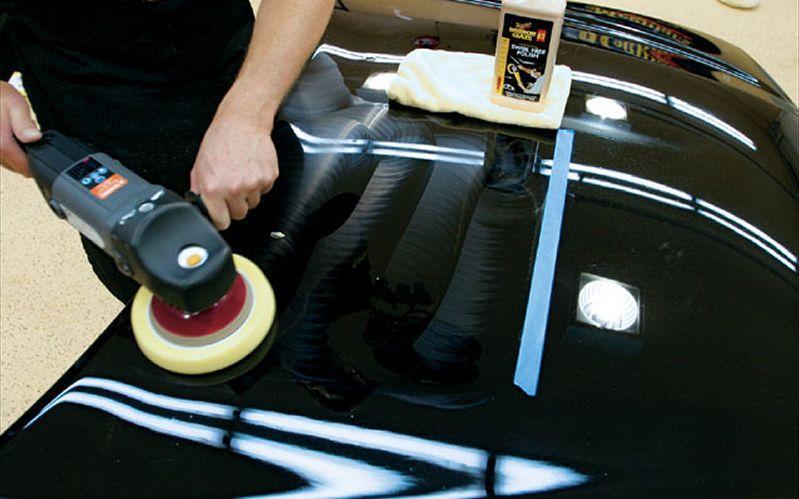 Жидкое стекло: полировка кузова перед нанесением